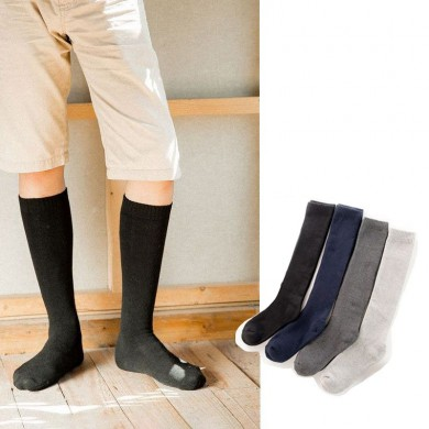 Men Cotton Outdoor Soccer Long Athletic Socks