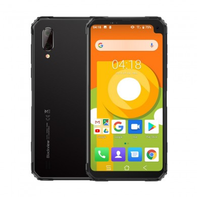 BLACKVIEW BV6100 6.88 inch IP68 5580mAh NFC Android 9.0 Waterproof Dustproof Shockproof 3GB 16GB Helio A22 Quad Core 4G Smartpho