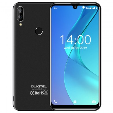 OUKITEL C16 Pro 5.71 inch Waterdrop Screen Android 9.0 3GB 32GB MT6761P Quad Core 4G Smartphone