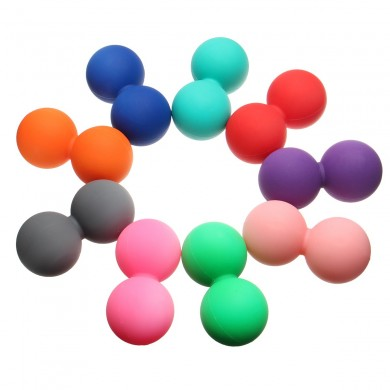 Double Lacrosse Tools for Myofascial Release Fisioterapia Peanut Shaped Massagem Ball
