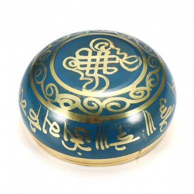 80mm Blue Tibetan Yoga Singing Bowl