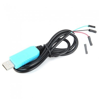 5Pcs PL2303TA USB To TTL RS232 Upgrade Module USB To Serial Port Download Cable