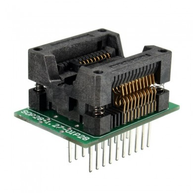 SOP20 to DIP20 Programmer Adapter Socket 1.27 mm Pitch 20 Pin Converter