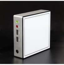 XCy X37 Mini PC Intel Celeron 2955U Barebone Dual Core 2 Threads Windows 10 Linux DDR3L 1.40GHz 300M Wi-Fi Computer desktop ultr