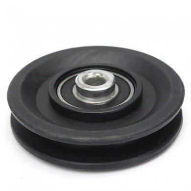 "90mm Nylon Bearing Pulley Wheel 3.5"" Cable Gym Fitness Equipment Part"