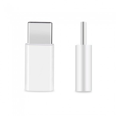 USB 3.1 Type C Male to Micro USB 2.0 Female Adapter for Tablet Cell Phone