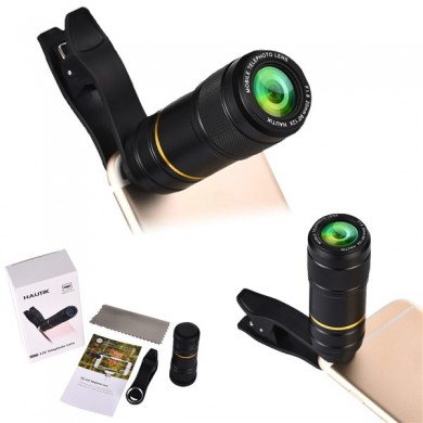 12X HD Telescope Camera Lens For Universal Cell Phone Tablet
