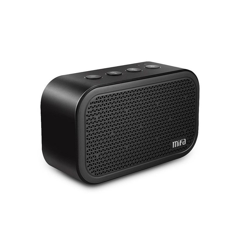 MIFA M1 Stereo Mini Outdoor bluetooth Speaker With Mic TF Card Alarm Clock Portable (Color: Red) фото