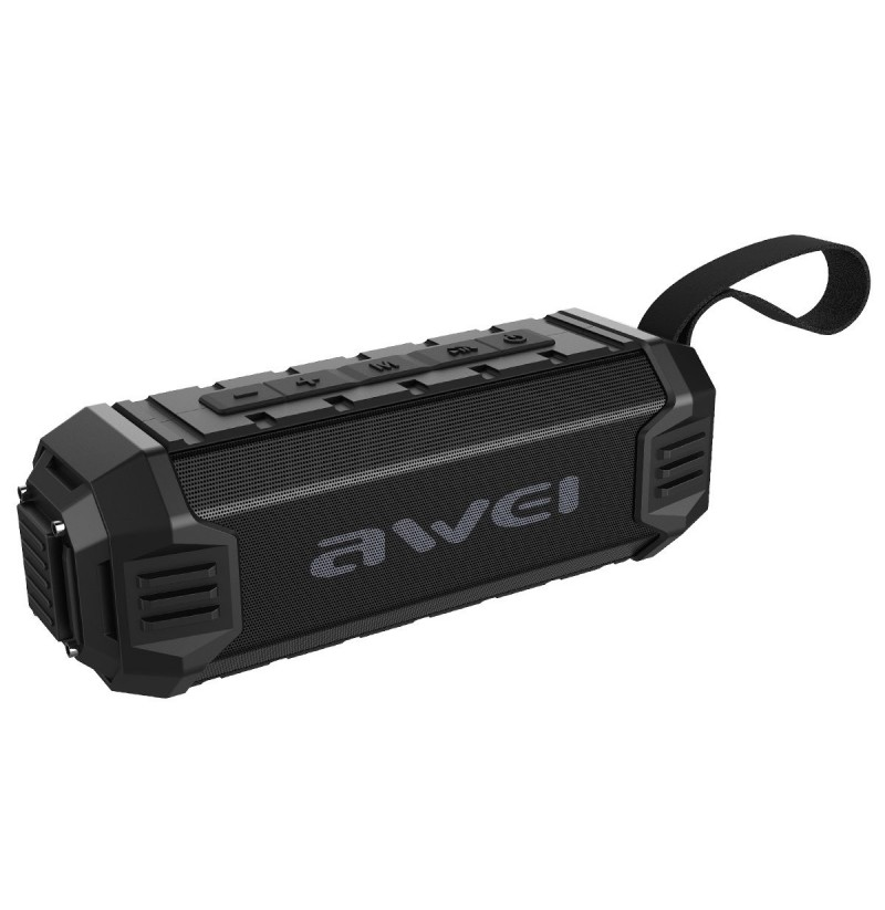 Awei Y280 Portable Wireless bluetooth Speaker Bass IPX4 Waterproof Noise Cancelling Speaker With Mic (Color: Black) фото