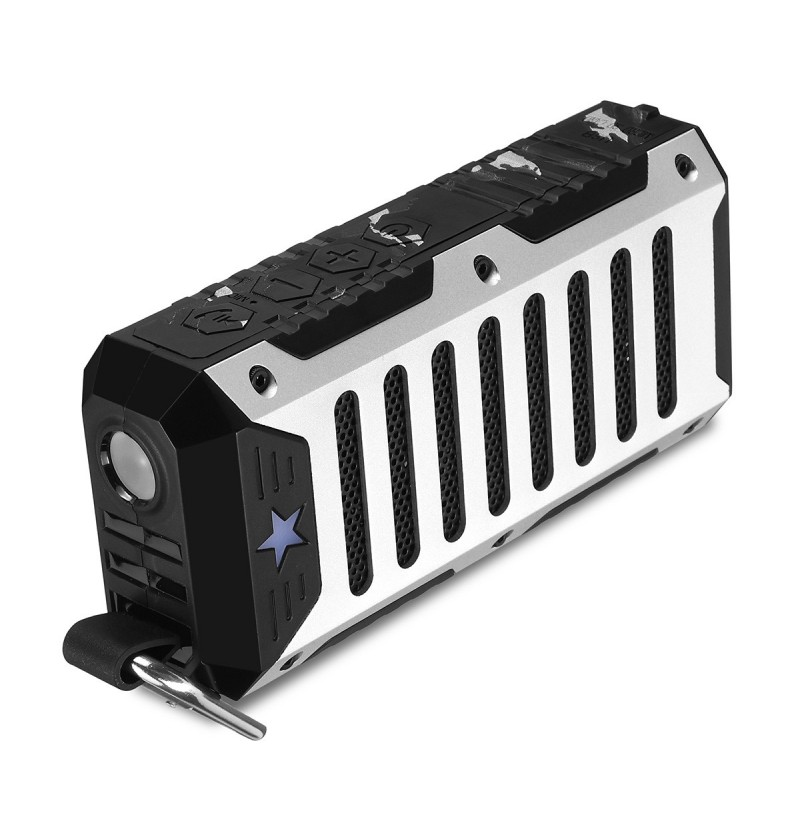 Portable Wireless bluetooth Speaker FM Radio TF Card Handsfree Shockproof Bass Outdoors Subwoofer (Color: Black) фото