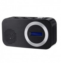 Altoparlante Bluetooth DAB Digital FM Radio Altoparlante 3,5 mm AUX Jack LCD Altoparlante Display