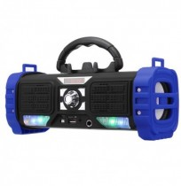 Portable Wireless bluetooth Speaker LED Light Heavy Bass 2200mAh TF Card Speaker with Mic with Phone Holder