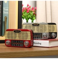 Wireless Speaker Retro Radio Bass HIFI bluetooth Headset for Smartphone Tablet Laptop