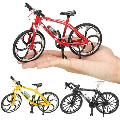 1:10 Diecast Bicycle Model Toys Racing Cycle Cross Mountain Bike Building Gift Decor