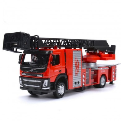 1:50 Scale Diecast Model Engine Truck Engineering Car Model With Sound & Light