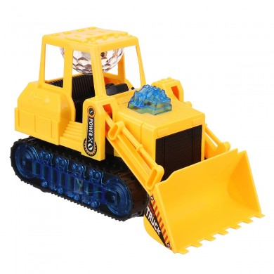 Electric LED Light Movable Truck Excavator Car Kid Xmas Gifts Toys