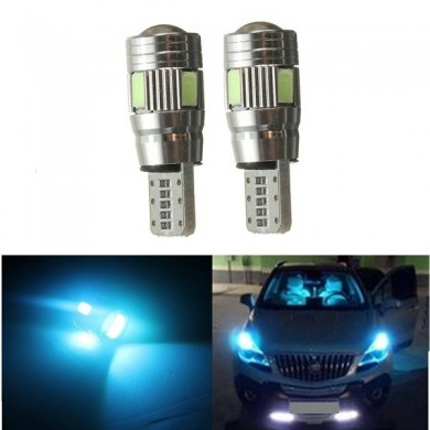 Car Bulb Lamp 5630 2W T10 Lens Can bus Error Free Light
