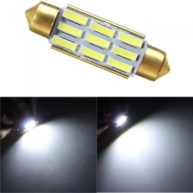 39MM 7020 9SMD Festoon Reverse Light Interior LED Light Decode Non-polar with Radiating Function