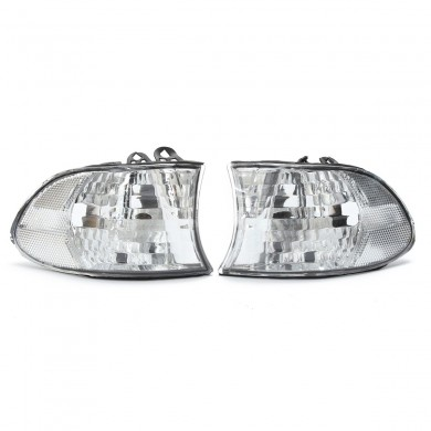 For 99-01 BMW E38 7-SERIES Corner Lights Side Light - Clear Lens 740i 740iL 750iL