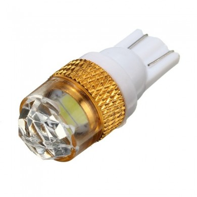 T10 W5W 5630 LED auto cuneo luce laterale 2 SMD bianco 6000k 168 194 12v