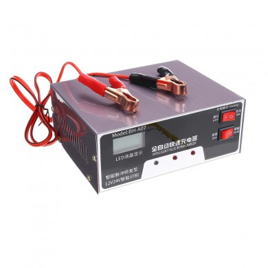 12V/24V 200Ah Pulse Repair With LCD Lead Acid Battery Intelligent Charger
