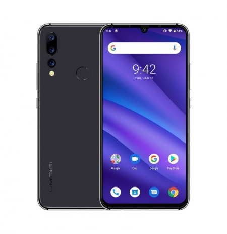 UMIDIGI A5 Pro Global Version 6,3-Zoll-FHD + Waterdro-Display Android 9.0 4150-mAh-Dreifach-RückfahrkAmeras 4 GB 32GB Helio P23