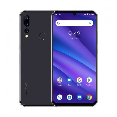 UMIDIGI A5 Pro Global Version 6.3 Inch FHD+ Waterdro Display Android 9.0 4150mAh Triple Rear Cameras 4GB 32GB Helio P23 4G Smart