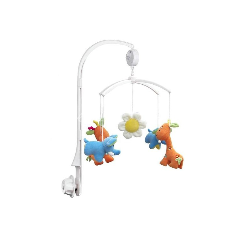 Baby Crib Mobile Bed Bell Toy Holder Arm Bracket and Wind Up Music Box фото