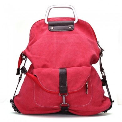 Women Canvas Backpack Casual Handbags Shoulder Bags