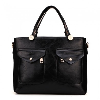 British Style Women Shoulder Bag Handbag PU Message Bag