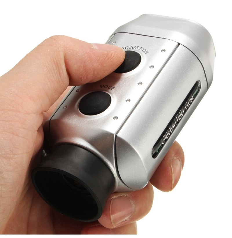 how to use golf rangefinder monocular
