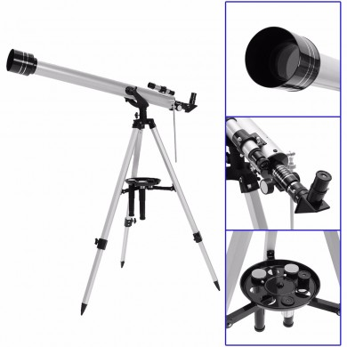 700-60 Outdoor Zooming Astronomical Monocular Space Telescope With Portable Tripod