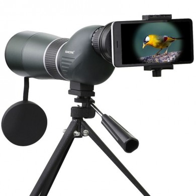IPRee 12-36x50S Monocular Telescope HD Optic Zoom Lens Bird Watching High Definition View Eyepiece