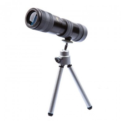 BIJIA 15-30X High Powered Zooming Telescope Prism Monocular Hiking Bird Watching Camping