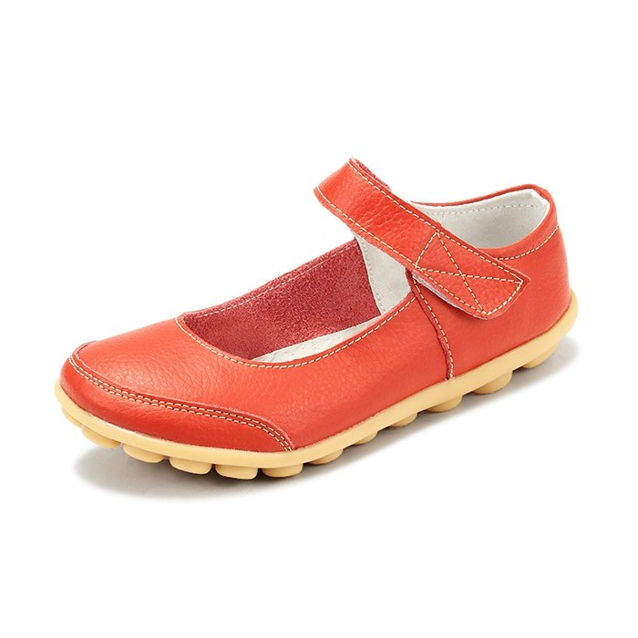 Big Size Women Soft Leather Breathable