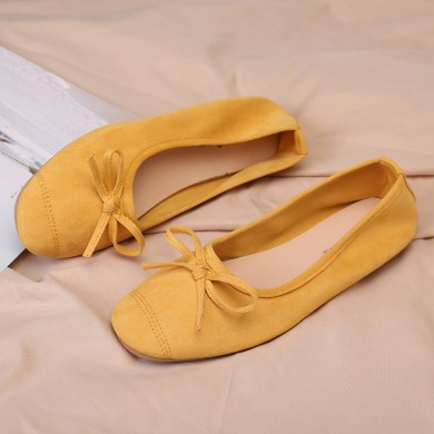 Women Casual Fashion Butterfly Knot  Flats