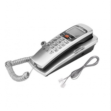FSK/DTMF Caller ID Telephone Corded Phone Big Button Desk Put Landline Fashion Extension Telephone