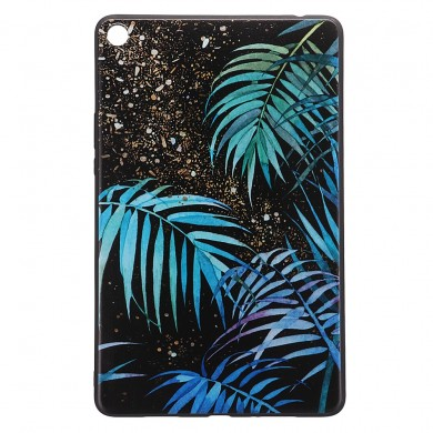 TPU Back Case Cover Tablet Case for XIAOMI Mipad 4 Plus - Salix leaf Version