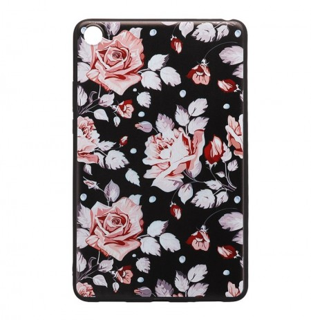 Custodia tablet con cover posteriore in TPU per Xiaomi Mipad 4 - Rose Version