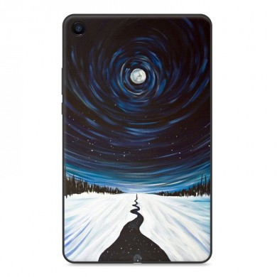 Custodia tablet cover posteriore in TPU per XIAOMI Mipad 4 Plus - Versione Star Sky