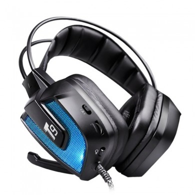 T9 50mm Driver LED Flashing Vibration Gaming Headphone Headset With Mic for Phone PC Computer