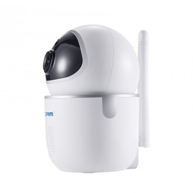 ESCAM QF903 3MP 1440P Wireless PTZ Pan/Tilt M otion Detection IP Camera Supportupto 128GBMicroSDCard