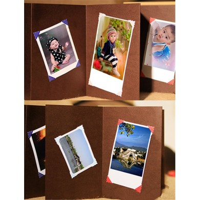 Handmade Paste Type DIY Photo Album Big Album Baby Lovers Photo Album 10 pages