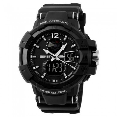 SKMEI AD1040 Sport Waterproof Analog Digital Display Men Watch