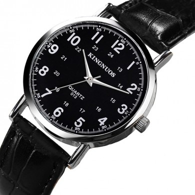 KINGNUOS 013 Casual Style Waterproof Men Wrist Watch