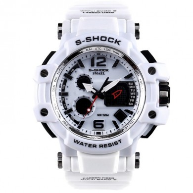 SMAEL 1509 Waterproof Male LED Digital Watch Display Date and Week Sport Watch