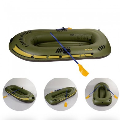 150*90cm-230*140cm Portable Inflatable Boat Thickening PVC Rowing Boat Fishing Ship for Diver Surfing Drifting