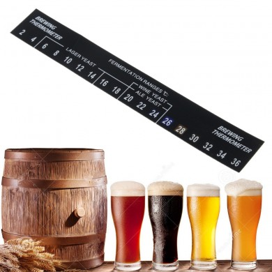 2--36 Digital Stick On Thermometer For Home Brew Beer Spirits Wine Kitchen Tools