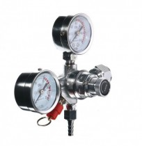 Dual Gauge Co2 Regulator Heavy Duty Pro Series Draft Beer Home Brew Kegerator