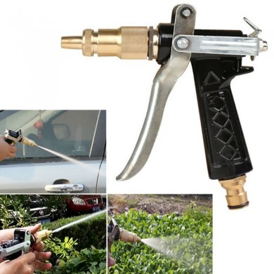 Copper Pressure Water Spray Nozzle For Car Wash Garden Watering